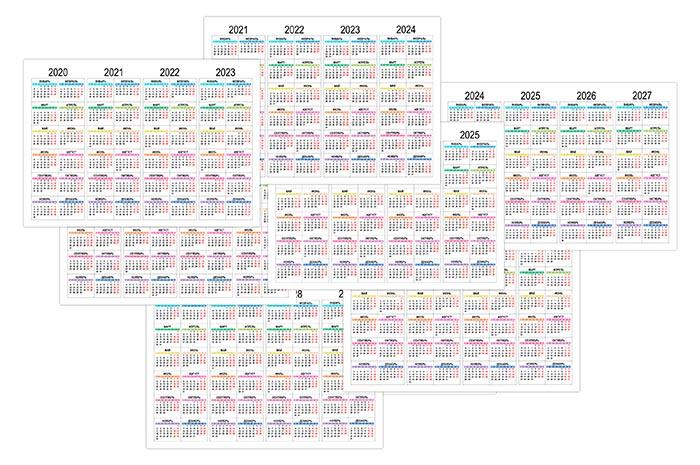 Календар на 4 роки